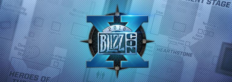 Опубликовано расписание BlizzCon 2016