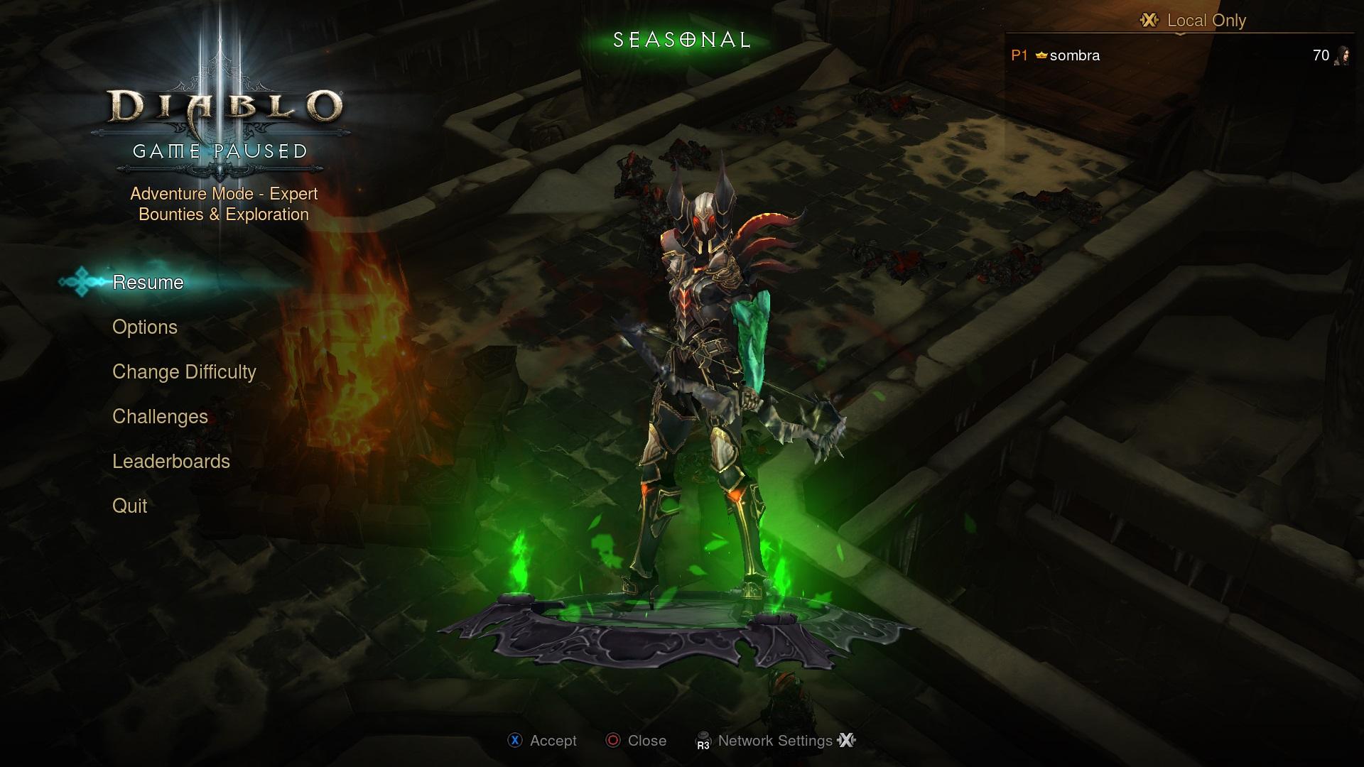 Diablo III: сезоны на консолях; новый интерфейс для материалов и билдов - GlassCannon
