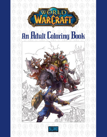 World of Warcraft Adult Coloring Book