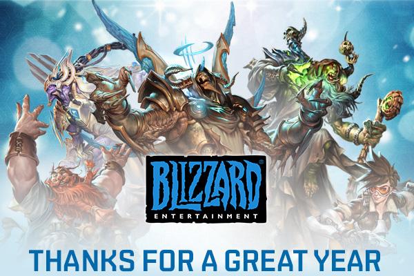 Blizzard поделились рождественской статистикой