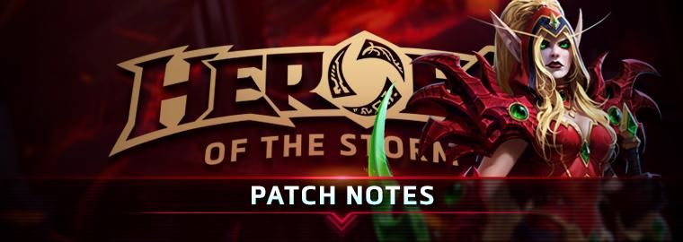 Heroes of the Storm: список изменений обновления от 24.01.17