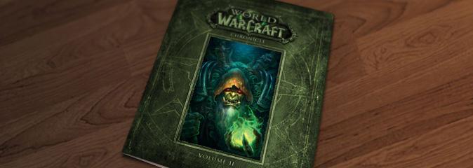 Иллюстрации из второго тома World of Warcraft: Chronicle