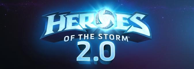 Heroes of the Storm 2.0: новый этап в развитии игры