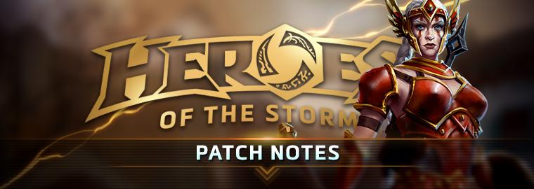 Heroes of the Storm: список изменений обновления от 04.04.17