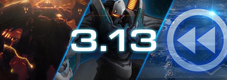 StarCraft II: список изменений обновления 3.13
