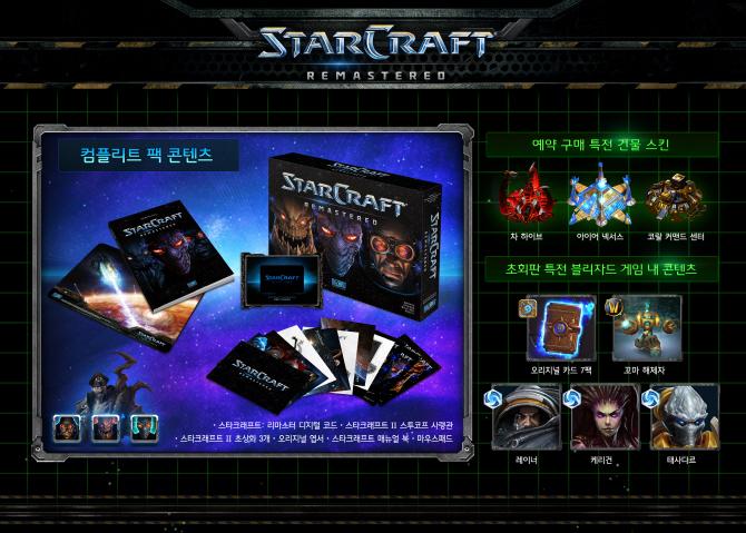 StarCraft Remastered: коллекционное издание для Южной Кореи