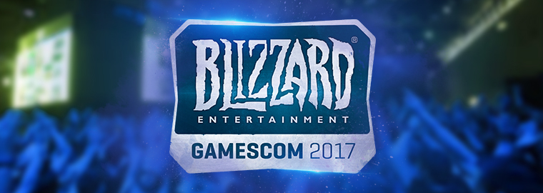 Blizzard Entertainment на gamescom 2017