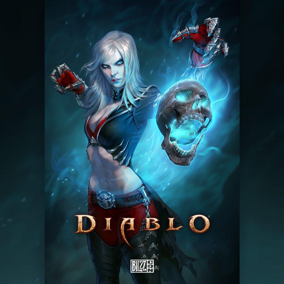 Опубликована иллюстрация серии Diablo для BlizzCon 2017
