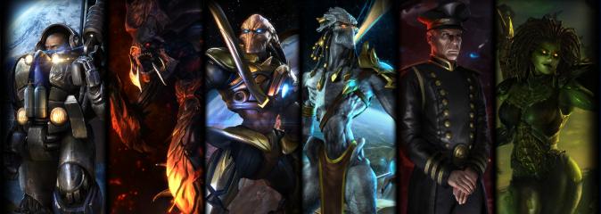 StarCraft Remastered: датамайн - портреты персонажей кампании