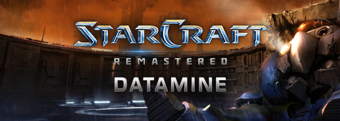 StarCraft Remastered: датамайн
