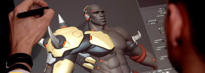 Overwatch: процесс создания Кулака Смерти