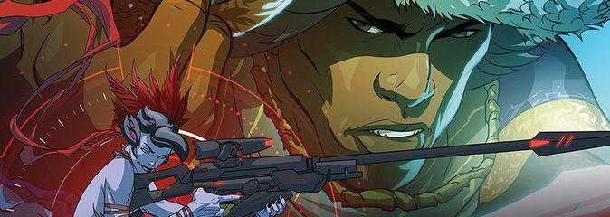 Overwatch: электронный комикс «Маскарад»