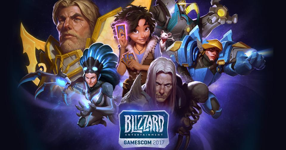 Blizzard Entertainment на gamescom 2017 - трансляция