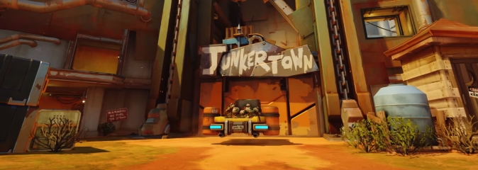 Overwatch: новое поле боя - Джанкертаун