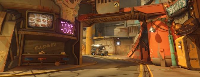 Overwatch: игровой процесс Джанкертауна