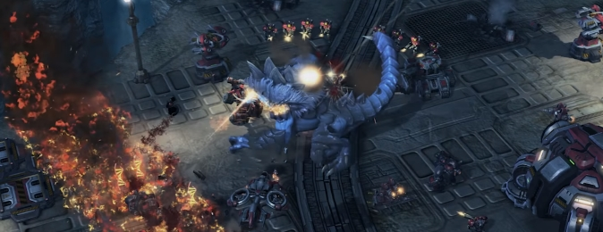 StarCraft II: игровой процесс за Дехаку в новой миссии