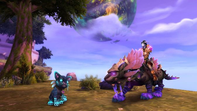 World of Warcraft: розыгрыш меняющих цвет спутников на gamescom 2017