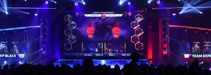 Игры Blizzard в самых прибыльных игр для киберспортсменов за 2017 год