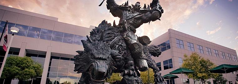 Мастерская Blizzard №19: создание статуи «Орк и волк»