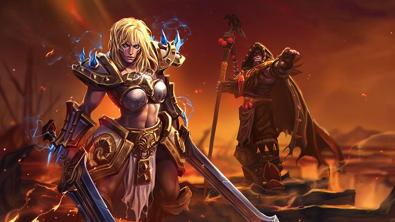 Heroes of the Storm: обновления для Сони и Медива