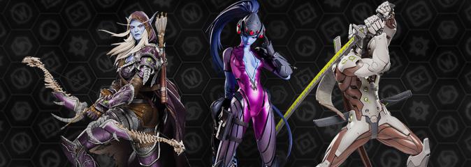 Мастерская Blizzard: создание коллекционных фигурок