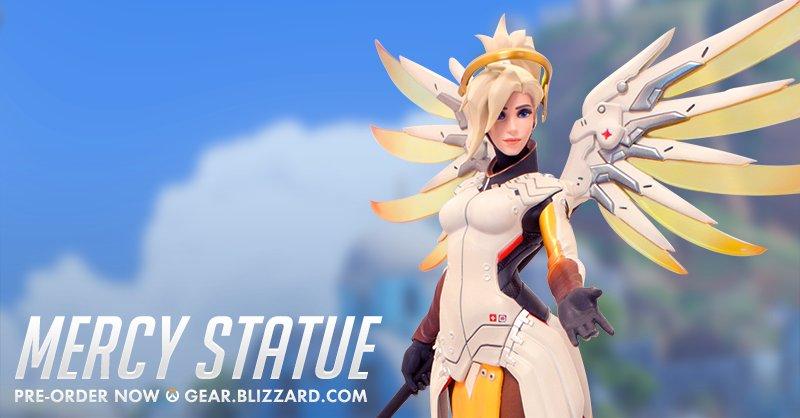 Мастерская Blizzard: коллекционная статуэтка Ангела