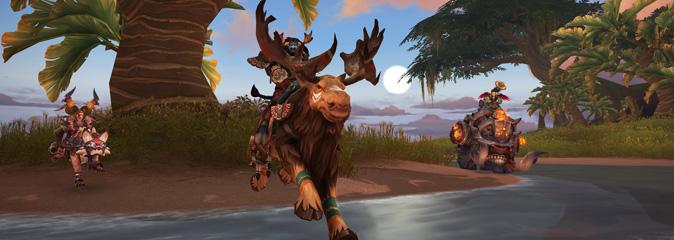 World of Warcraft: экспедиции на острова