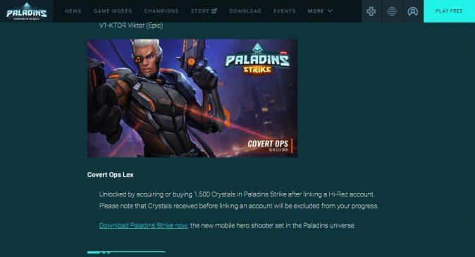 В мобильный Paladins «случайно» попал плагиат на Overwatch и Heroes of the Storm