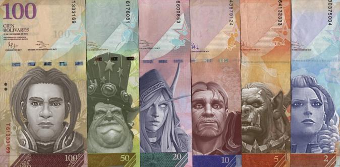 Золото в World of Warcraft стало в 7 раз дороже национальной валюты Венесуэлы