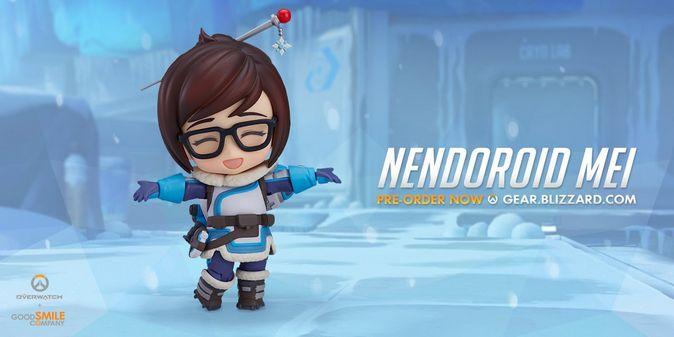 Мастерская Blizzard: фигурка Мэй из серии Nendoroid Overwatch