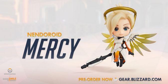 Мастерская Blizzard: фигурка Ангела из серии Nendoroid Overwatch