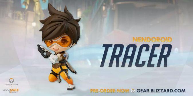 Мастерская Blizzard: фигурка Трейсер из серии Nendoroid Overwatch