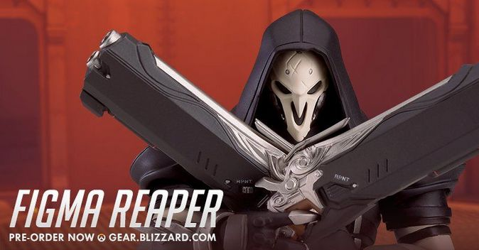 Мастерская Blizzard: фигурка Жнеца из серии Figma Overwatch
