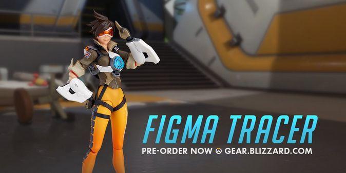 Мастерская Blizzard: фигурка Трейсер из серии Figma Overwatch