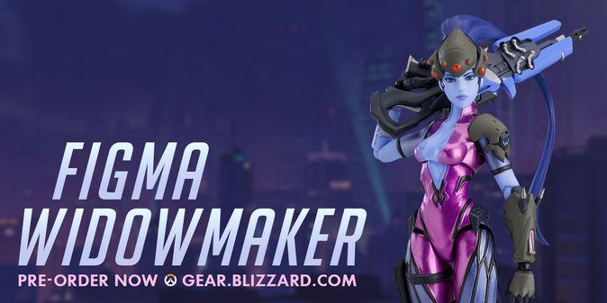 Мастерская Blizzard: фигурка Роковой вдовы из серии Figma Overwatch