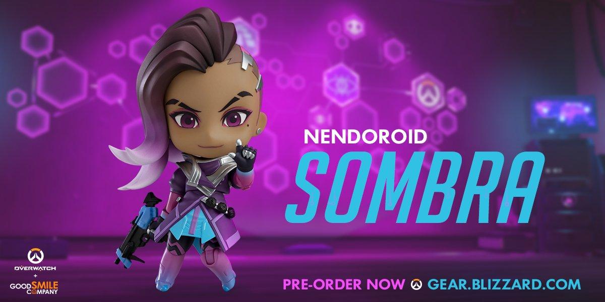 Мастерская Blizzard: фигурка Сомбры из серии Nendoroid Overwatch