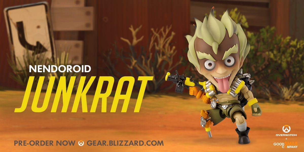 Мастерская Blizzard: фигурка Крысавчика из серии Nendoroid Overwatch