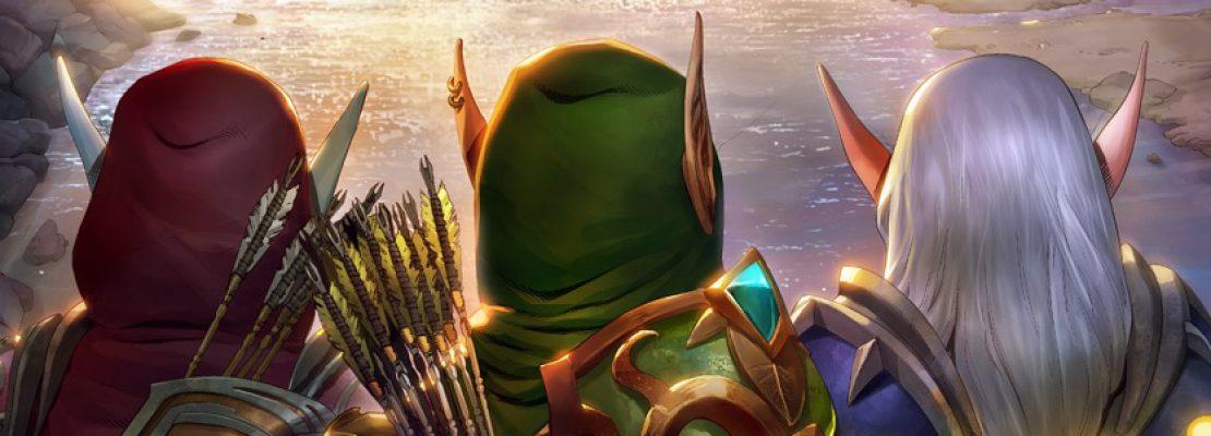 World of Warcraft: вышел электронный комикс «Три сестры»