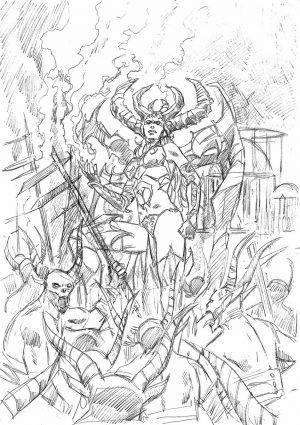 Новый комикс по Diablo про Лилит