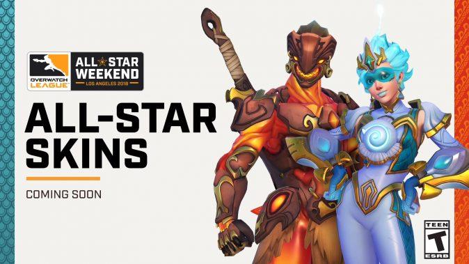 Облики «Звездные выходные» All-Star Weekend в Overwatch