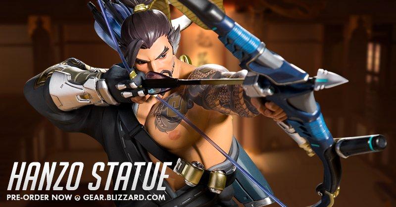 Мастерская Blizzard: коллекционная статуэтка Хандзо