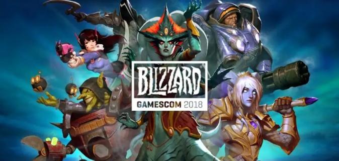 Вышло расписание мероприятий Blizzard на gamescom 2018