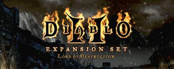 Оригинальный логотип Diablo 2 Lord of Destruction