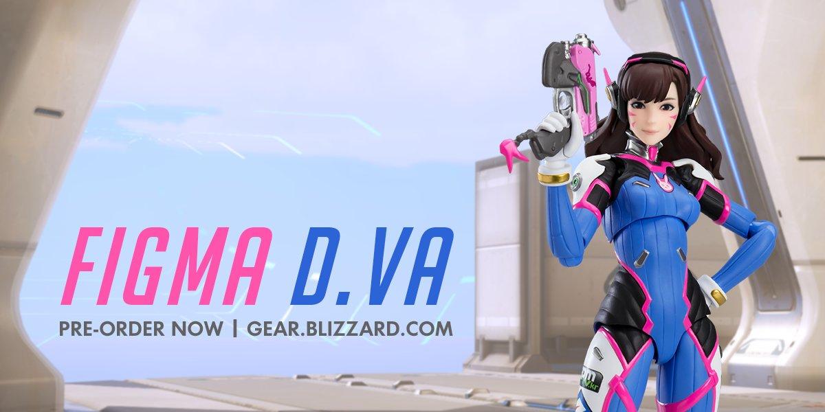 Мастерская Blizzard: фигурка D.Va из серии Figma Overwatch