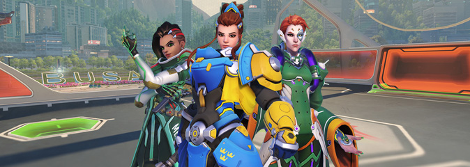 Overwatch: новое сезонное событие - «Летние игры 2018»