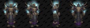 World of Warcraft: обновление 8.1 - комплекты Осады Зулдазара - эпохальная ткань