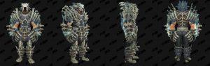 World of Warcraft: обновление 8.1 - комплекты Осады Зулдазара - эпохальная кожа