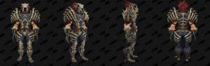 World of Warcraft: обновление 8.1 - комплекты Осады Зулдазара - кожа
