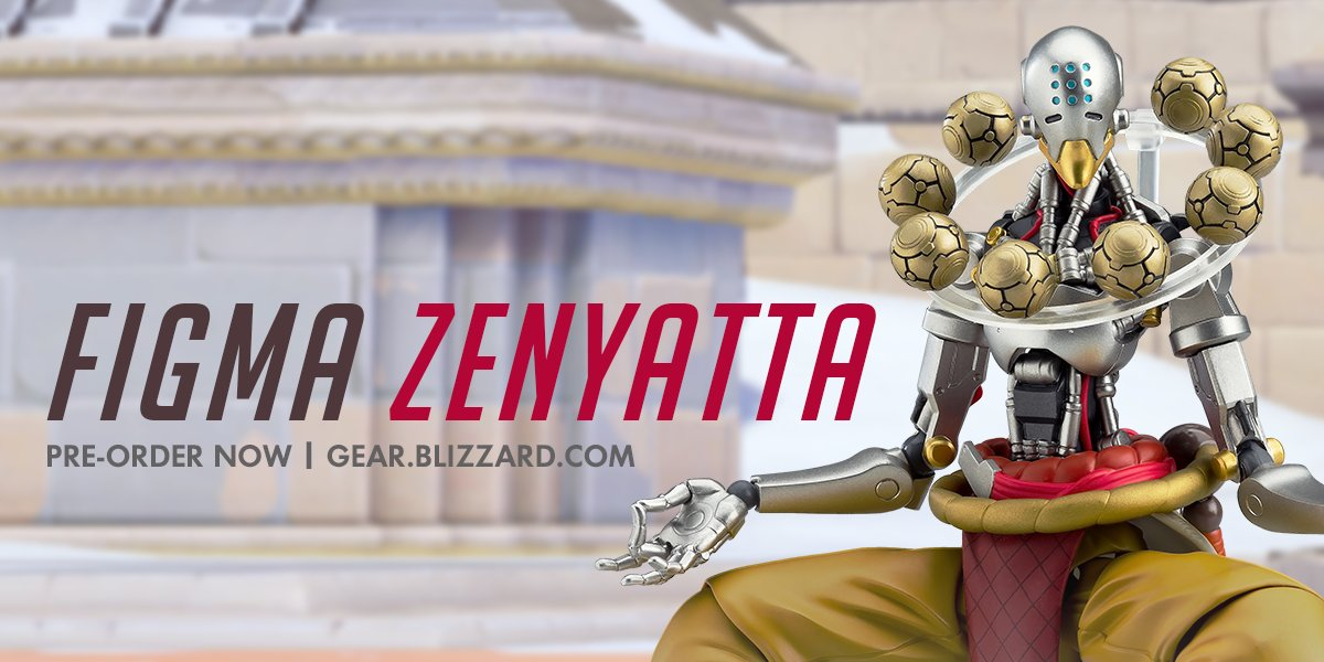 Мастерская Blizzard: фигурка Дзенъятты из серии Figma Overwatch