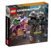 LEGO Overwatch КомплектD.Va & Reinhardt (75973)